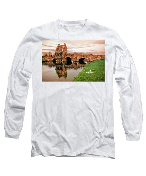 Shakespeare Bridge Long Sleeve T-Shirt by Iryna Goodall