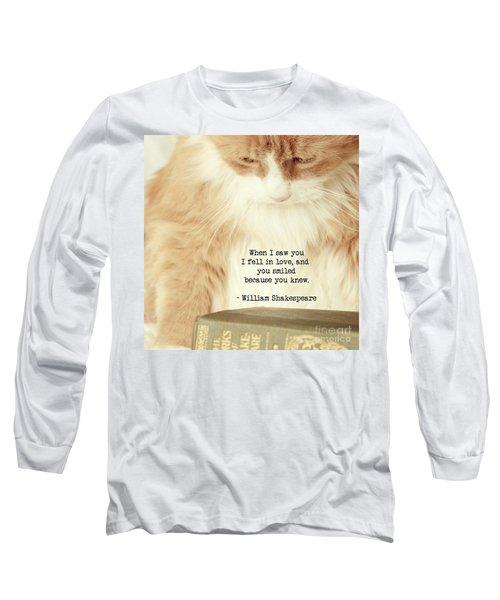 Shakespeare In Love Long Sleeve T-Shirt