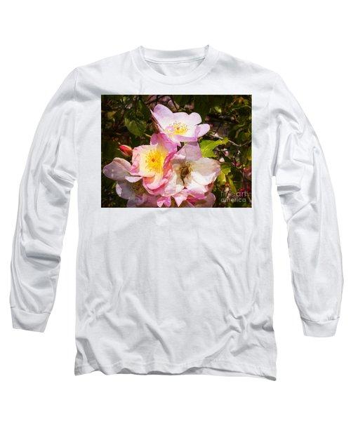 Shakespeares Summer Roses Long Sleeve T-Shirt