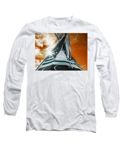 Shamans Tipi Long Sleeve T-Shirt