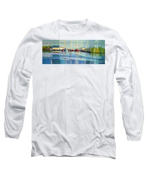 Shark River Inlet Long Sleeve T-Shirt