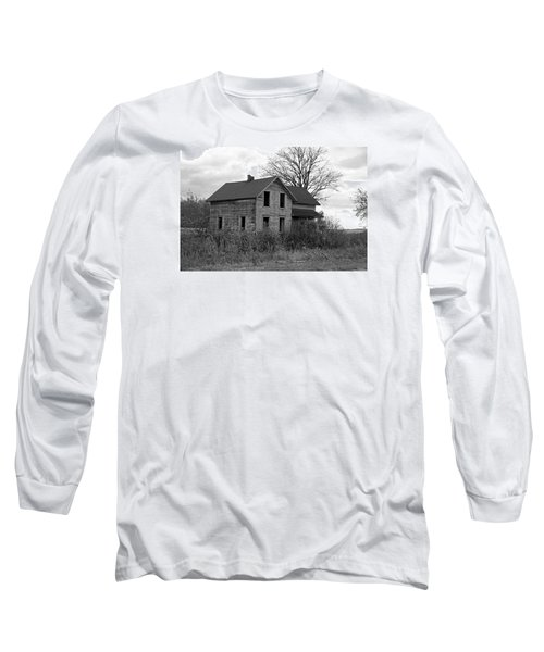 Shattered Ties Long Sleeve T-Shirt by Michiale Schneider