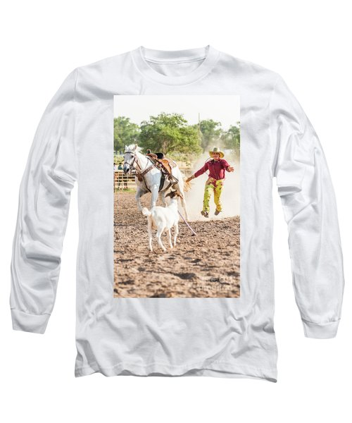 Shawnee Sagers Goat Roping Competition Long Sleeve T-Shirt