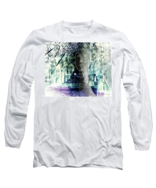 She Thought She's Never Be Alone Again Long Sleeve T-Shirt