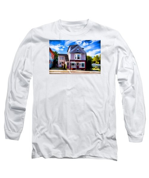 Long Sleeve T-Shirt featuring the photograph Shelbourne Bakery by Rick Bragan