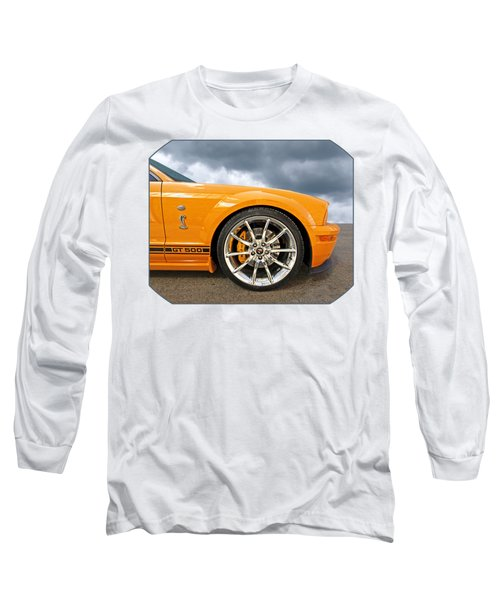 Shelby Gt500 Wheel Long Sleeve T-Shirt