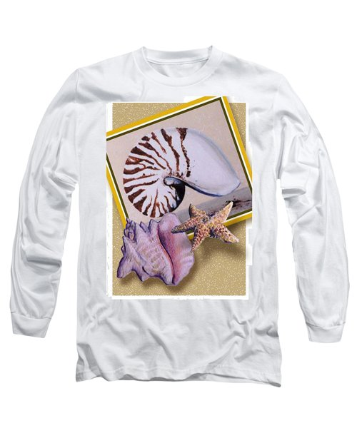 Shell Collage Long Sleeve T-Shirt