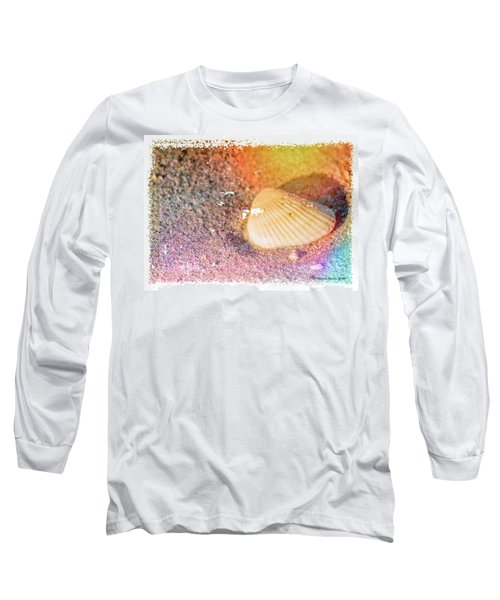 Long Sleeve T-Shirt featuring the photograph Shelling Out by Marvin Spates