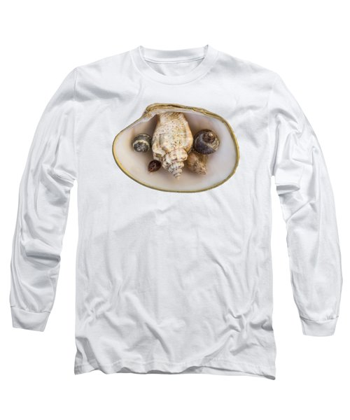 Shells Within A Sea Shell Long Sleeve T-Shirt
