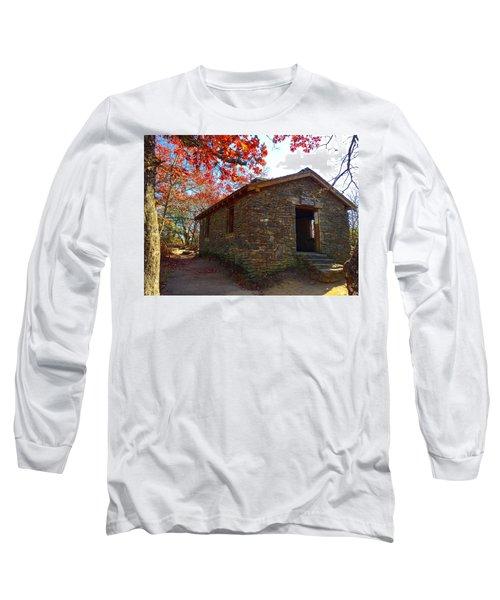 Blood Mountain Shelter Long Sleeve T-Shirt