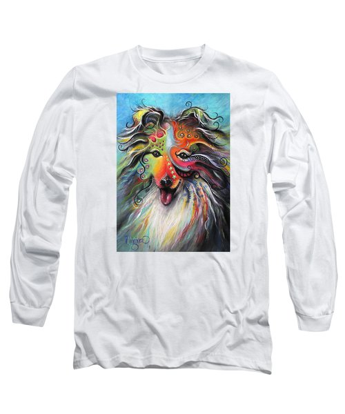 Sheltie  Long Sleeve T-Shirt by Patricia Lintner