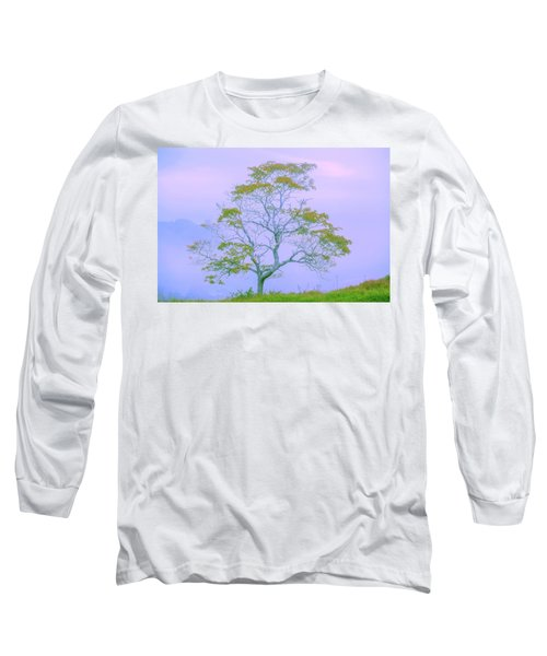 Shepherd Of The Valley Long Sleeve T-Shirt by Az Jackson