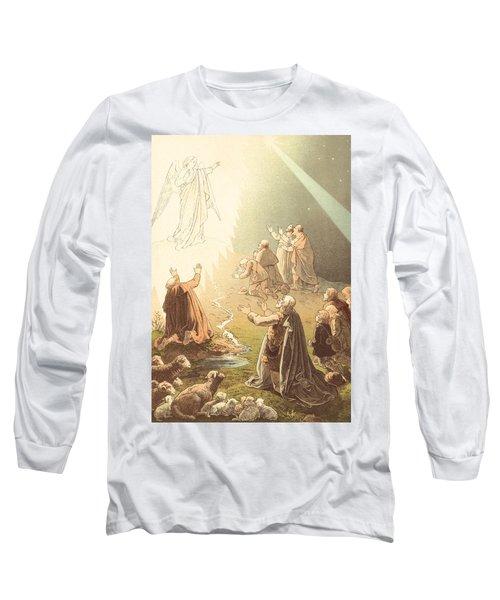 Shepherds Watching Their Sheep Long Sleeve T-Shirt
