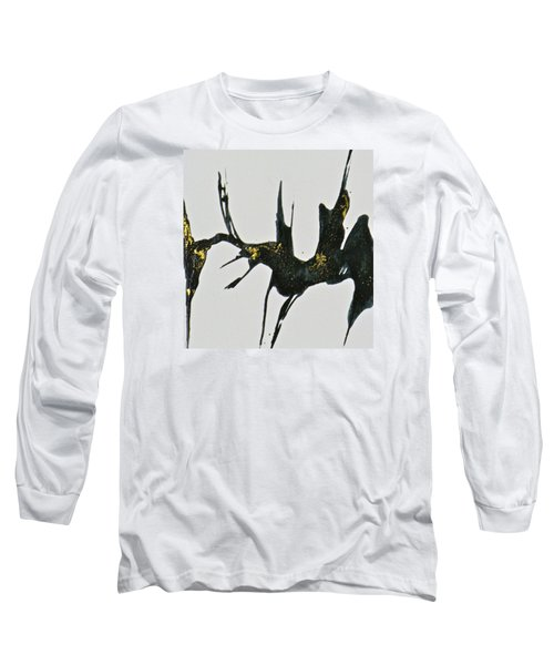 Long Sleeve T-Shirt featuring the painting Shift by Mary Sullivan