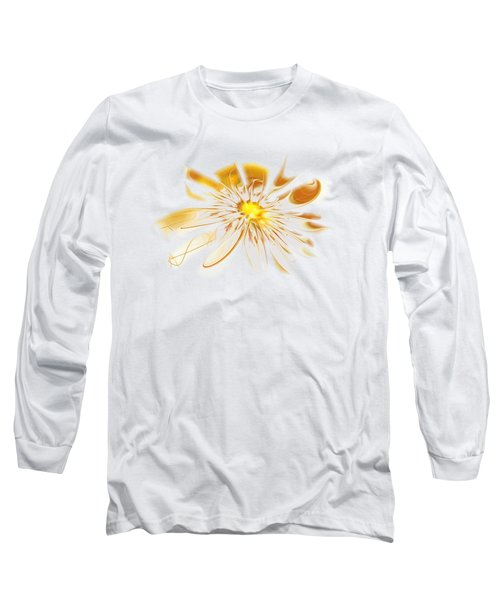 Shining Yellow Flower Long Sleeve T-Shirt