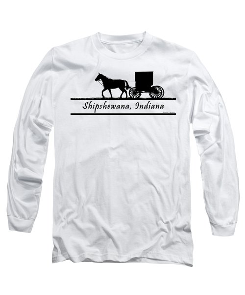 Shipshewana T-shirt Design Long Sleeve T-Shirt