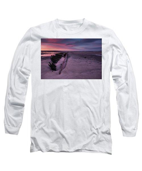 Shipwreck Sunrise  Long Sleeve T-Shirt