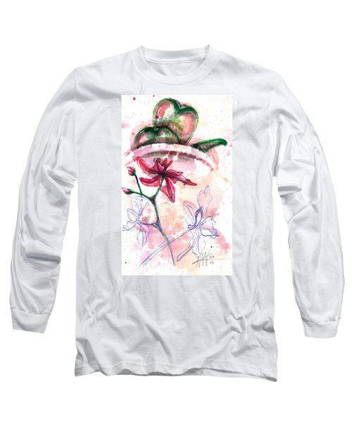 Shiraz Orchid II Long Sleeve T-Shirt by Ashley Kujan