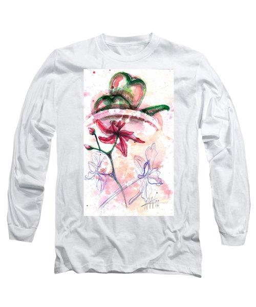 Shiraz Orchid II Long Sleeve T-Shirt