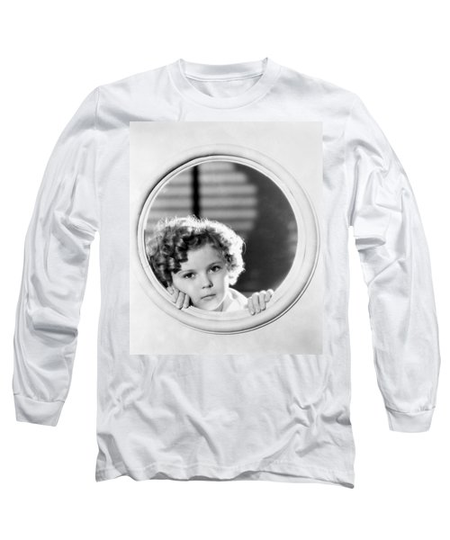 Shirley Temple (1928-2014) Long Sleeve T-Shirt by Granger
