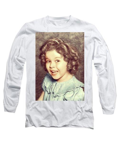 Shirley Temple, Actress Long Sleeve T-Shirt