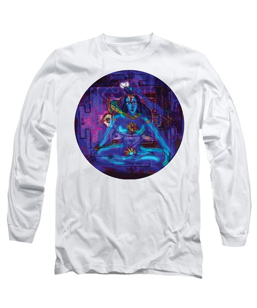 Shiva In Meditation Long Sleeve T-Shirt