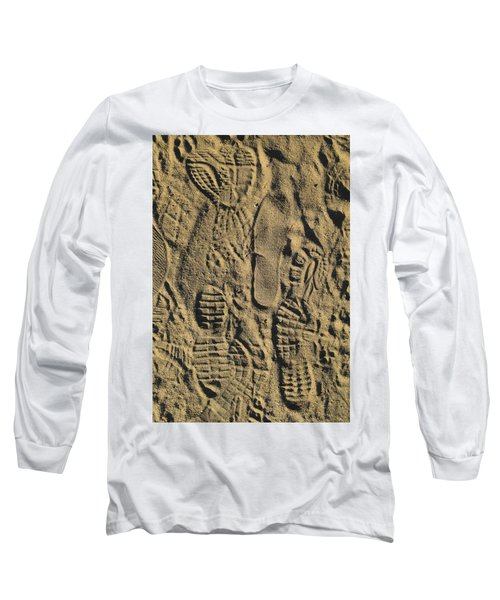 Shoe Prints II Long Sleeve T-Shirt