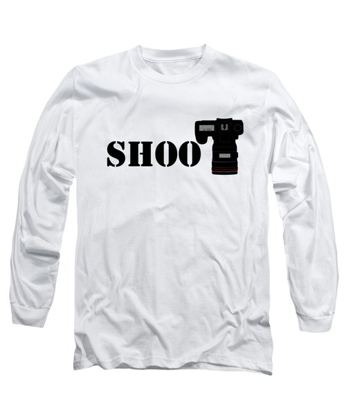 Shoot Long Sleeve T-Shirt by Roger Lighterness