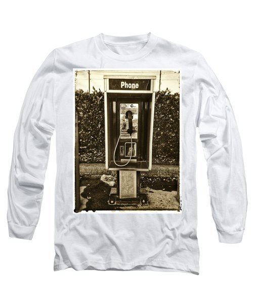 Short Stack Pay Phone Long Sleeve T-Shirt