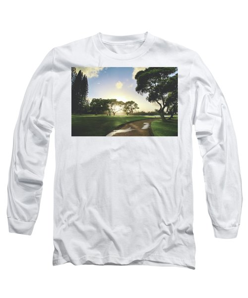 Long Sleeve T-Shirt featuring the photograph Show Me The Way by Laurie Search