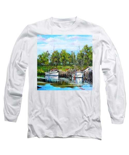 Shrimping Boats Long Sleeve T-Shirt