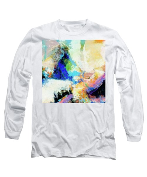 Long Sleeve T-Shirt featuring the painting Shuttle by Dominic Piperata