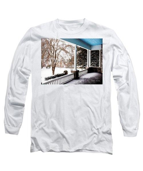 Side Porch Long Sleeve T-Shirt