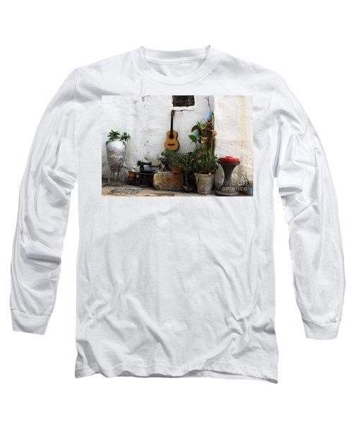 Sidewalk Collage #2 Long Sleeve T-Shirt