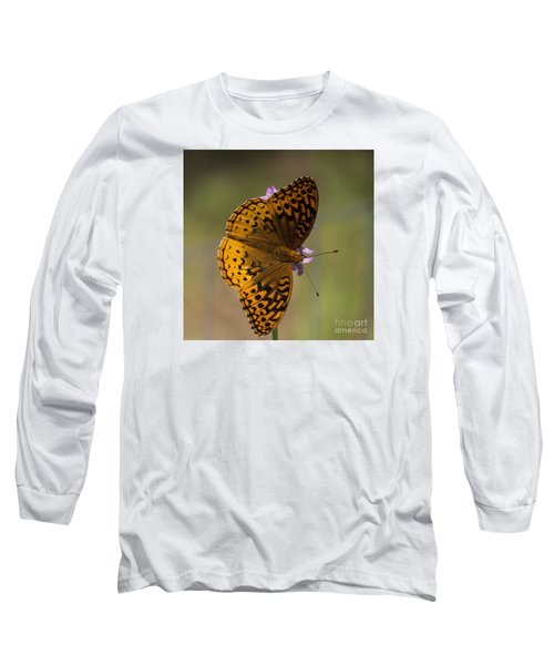 Sideways Long Sleeve T-Shirt