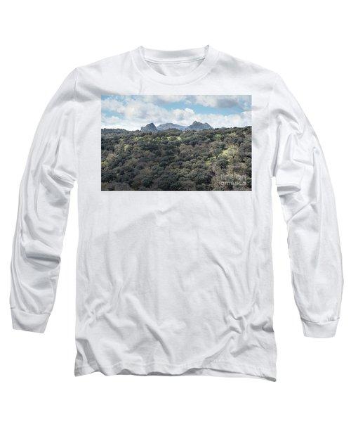 Sierra Ronda, Andalucia Spain Long Sleeve T-Shirt