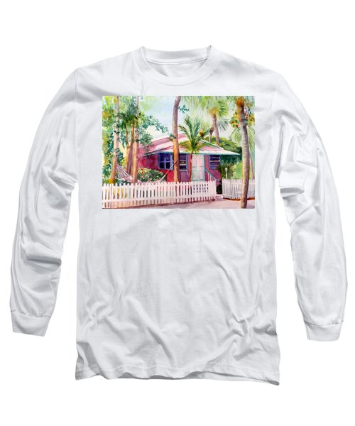 Siesta Key Cottage Long Sleeve T-Shirt