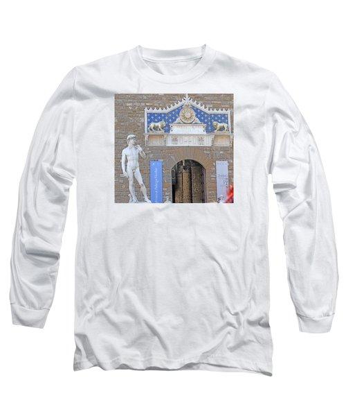 Signoria Square's David Long Sleeve T-Shirt by Allan Levin