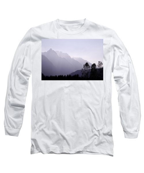 Silhouette Austria Europe Long Sleeve T-Shirt