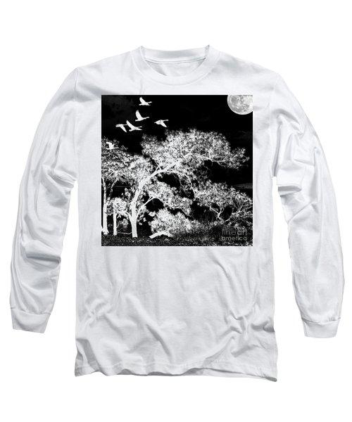 Silver Nights Long Sleeve T-Shirt