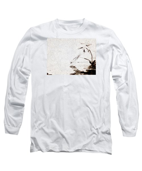 Simple Reflections Long Sleeve T-Shirt by Mario Carini