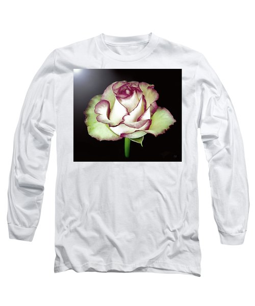 Single Beautiful Rose Long Sleeve T-Shirt