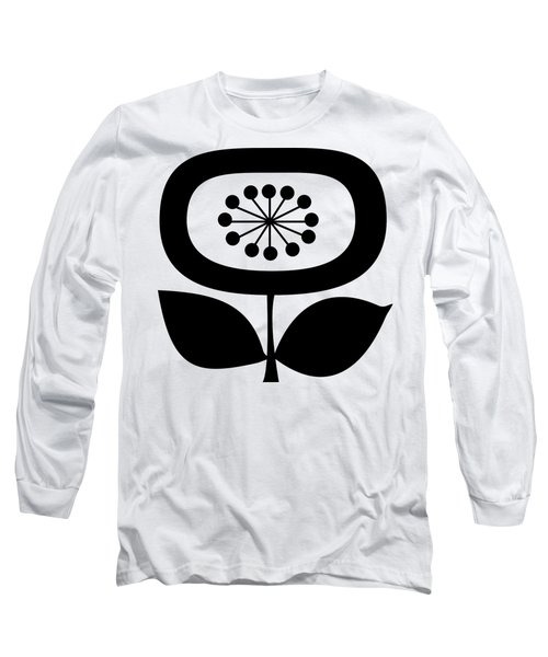 Single Flower 2 Transparent Long Sleeve T-Shirt