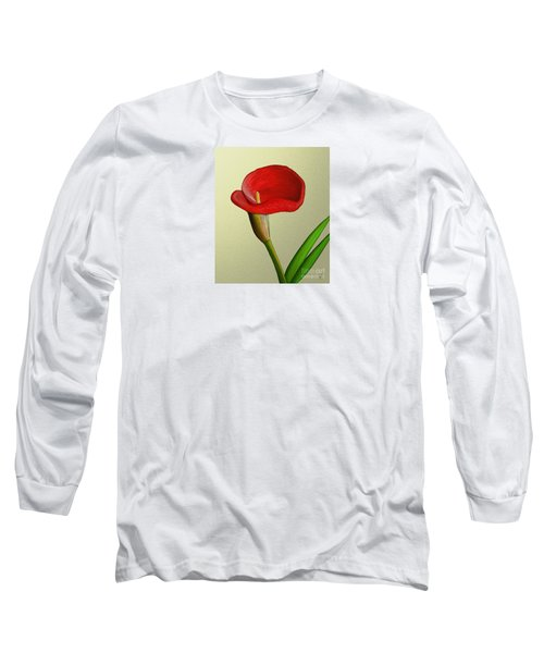 Long Sleeve T-Shirt featuring the painting Single Pose by Rand Herron