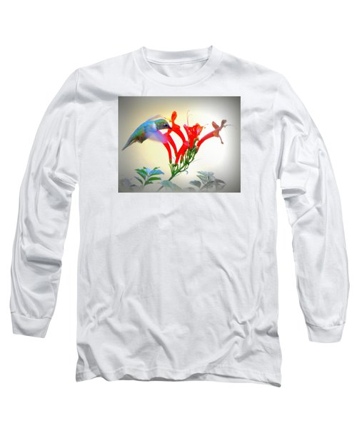 Sipping The Nectar Long Sleeve T-Shirt