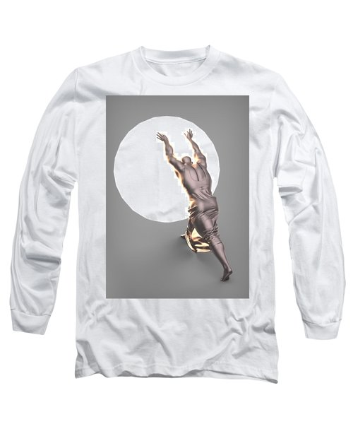 Sisyphus Lamp 04 Long Sleeve T-Shirt