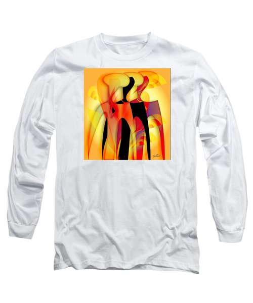 Sisters 4 Long Sleeve T-Shirt by Iris Gelbart