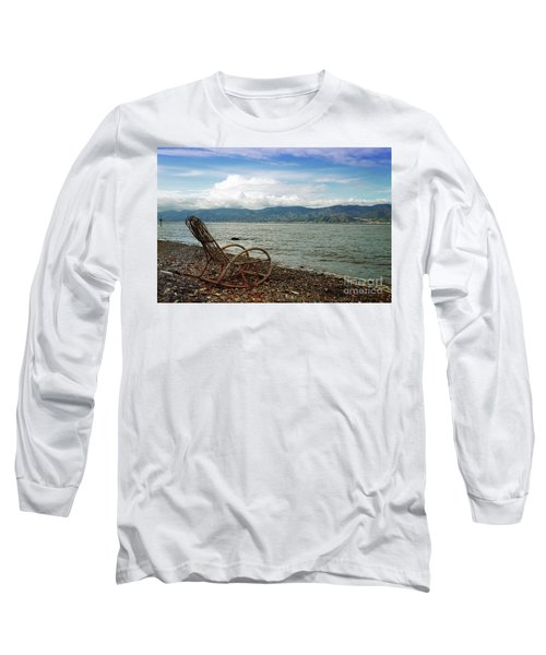 Sit Back And Enjoy Long Sleeve T-Shirt