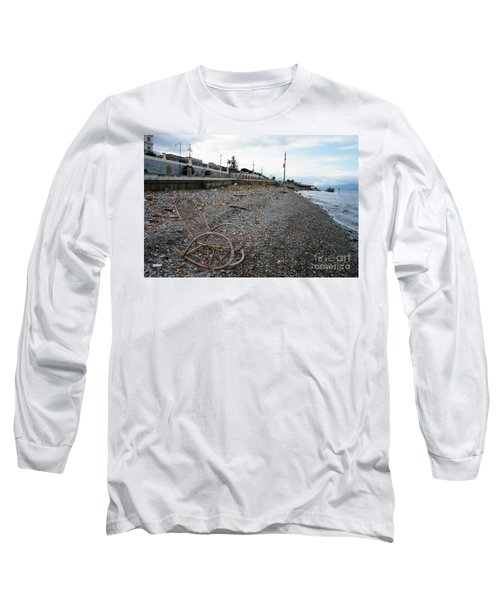 Sit Back And Enjoy The Sea Long Sleeve T-Shirt by Ana Mireles