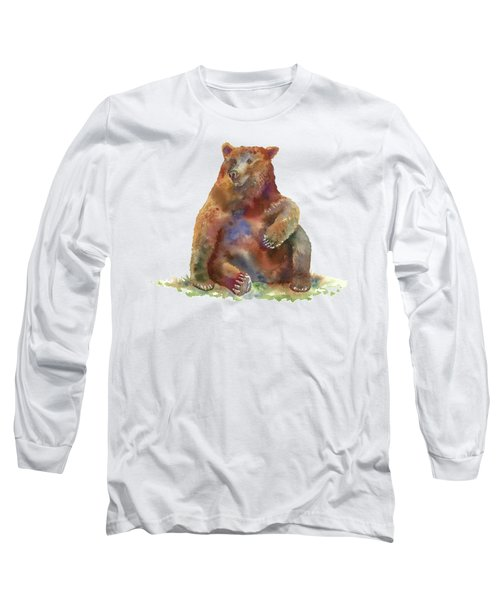Sitting Bear Long Sleeve T-Shirt